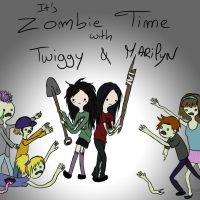 It's Zombie Time by June-Rosenfield