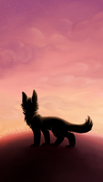 Watching - wallpaper by shadowily