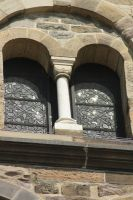 different types of windows on one church 5 by marob0501