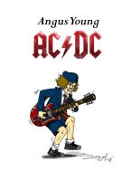 Angus Young by BHM-Studios