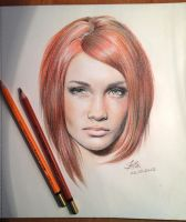 Colored pencil test by chingybta