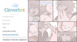 CLEVERBOT: ZOMBIE 2 by xMr-Narwhal