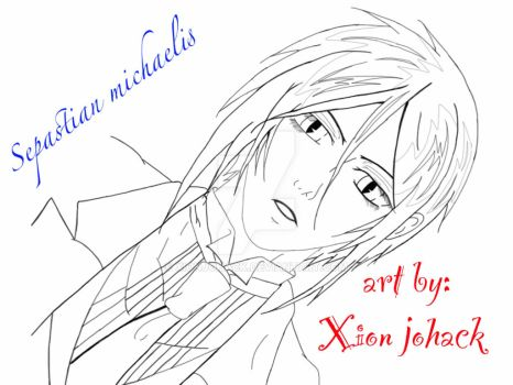 sepastian Michaelis by Xionjohack