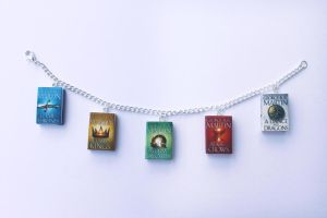 Game of Thrones Miniature Book Bracelet by Saint-Rise