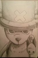 One Piece: Chopper Sketch by ShadowWhisper446