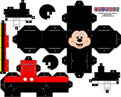 Cubee MICKEY MOUSE Remastered by njr75003