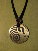 friend of whovianart pendant A by whovianart