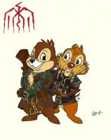 Varric and Bartrand Applecore by dragonheart