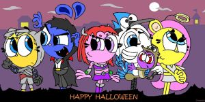 Halloween costumes by Dreedwin