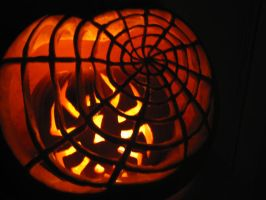Spider Pumpkin by ArtisticAuras