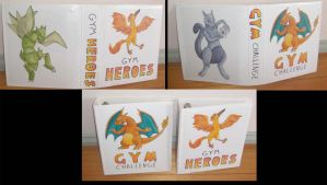 Gym Card Binders by moltres93