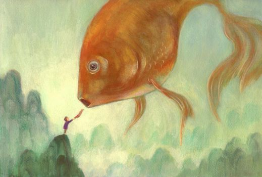Animals in dreams deviantart for Dream about fish out of water
