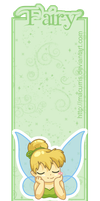 Tinkerbell Bookmark by macurris
