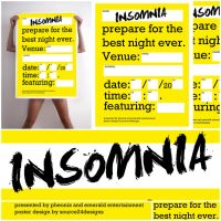 Insomnia Poster Design 3 by IshaanMishra