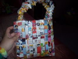 A Bag from shopping flyers by illcoveryouwjh