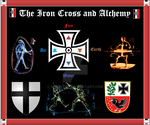 Iron Cross and Alchemy by Mikewildt