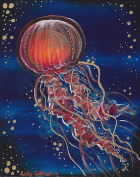 Jellyfish by Ducks-with-Crayons