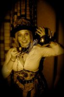 Steampunk Mad Hatter V.2 - A Bit Mad by MooneWolfe