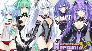 Neptunia V - Wallpaper 2 by karto1989
