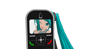 [MMD] Glitched Cam/Cell Phone DL by OniMau619