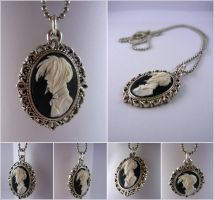 Sebastian Michaelis pendant (victorian version) by Elaiss-in-iceland