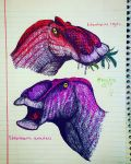 Edmontosaurus by speculated