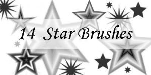 Random Star Brushes by SereneBrushes