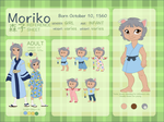 MORIKO Character Reference and Biography by NattiKay