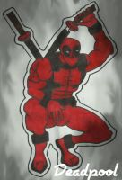 Deadpool  (digital effected )  by LudeMagik
