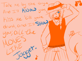 mizuo: like jagger by xBadgerclaw