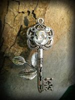 Winter's Rose Fantasy Key by ArtByStarlaMoore