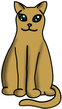 Chubby Brown Cat by valsgalore