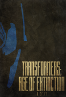 Transformers: Age of Extinction Poster by edwardjmoran