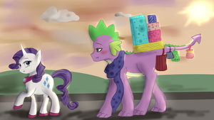Shopping Sparity by SlytherinAkatsuki