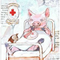 """piggy"" by miorats"