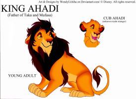 The King Ahadi (my version) by WendyUchiha