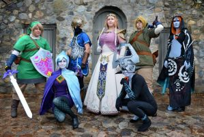 Group Legend of Zelda Shot 1 by sugarpoultry