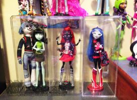 SDCC Monster High - The Exclusive Ones by Chibi-Warmonger