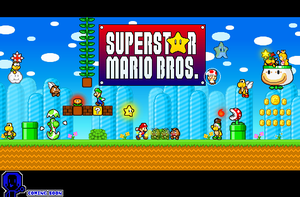Superstar Mario Bros Cover by Chrispriter89