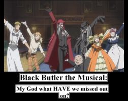 Black Butler The Musical by MercyAntebellum