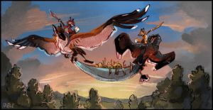 Foxtributes Galyx by FablePaint