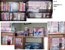 Manga Collection as of Today8D by Zero-Alchemist