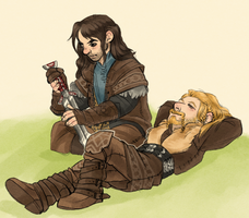 Fili and Kili by BriarX