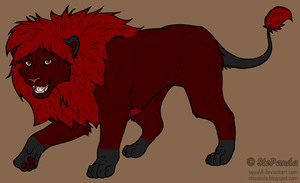 Lion Adopt 1 CLOSED by Fenere