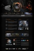 Hunter Killers Website by pixelbudah