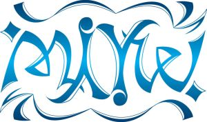 ambigram name mike by matt-torch