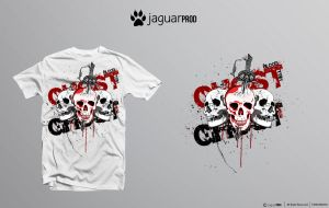T-shirt Ghost by JaguarProd
