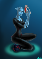 ME3 Liara by alieks