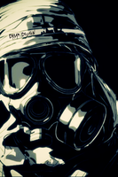 Cartooned Gas Mask by DreaMusiC