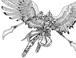 Valkyrie Concept 4-Inks by arvalis